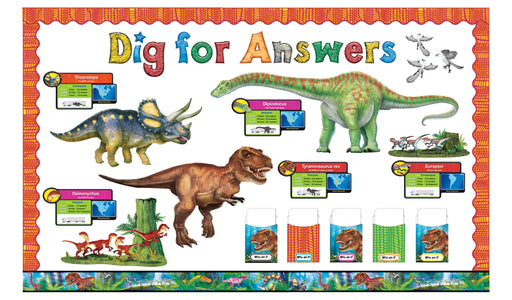 D8294 Discovering Dinosaurs® Bulletin Board Idea