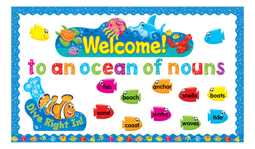 D8307 Sea Buddies™ Welcome to an Ocean of Nouns Bulletin Board Idea