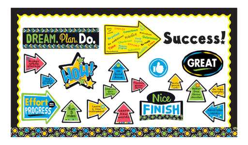 D8391 Bold Strokes Phrases Goals Bulletin Board Idea