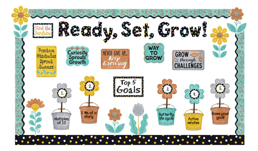 I ♥ Metal™  Grow for It! Bulletin Board Idea
