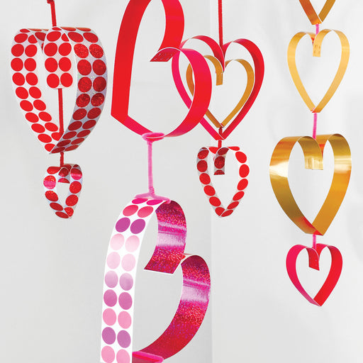 Heart Border Hanging Decor DIY