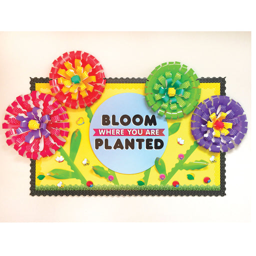 Spring Flower Bloom Where You Are Planted Display DIY