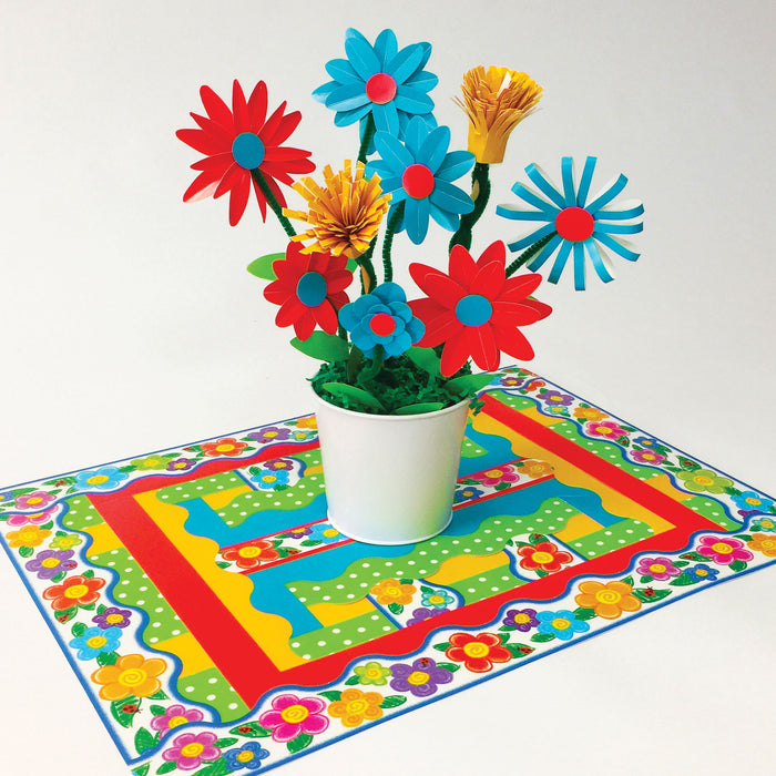 Spring Pattern Placemat DIY