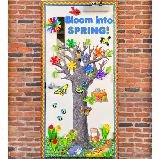 DIY155 Bloom Into Spring Door Display