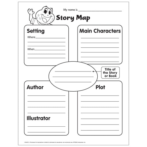 Story Map Worksheet Free Printable