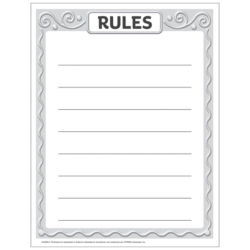 Rules Free Printable