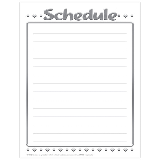Schedule Free Printable