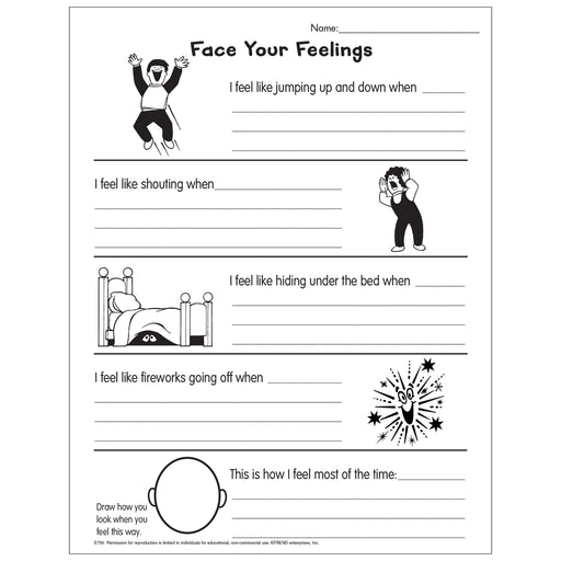 Exploring Our Emotions Free Printable