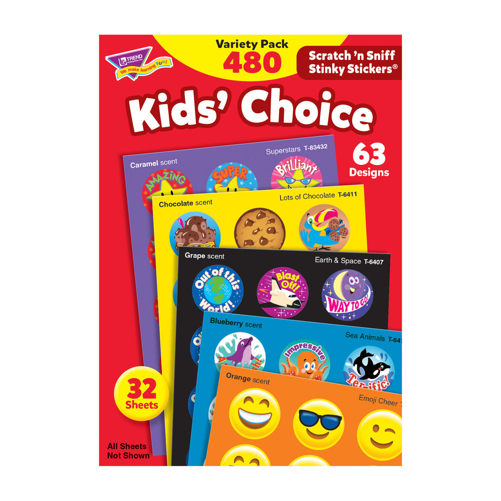 Kids' Choice Scratch 'n Sniff Stinky Stickers® Variety Pack