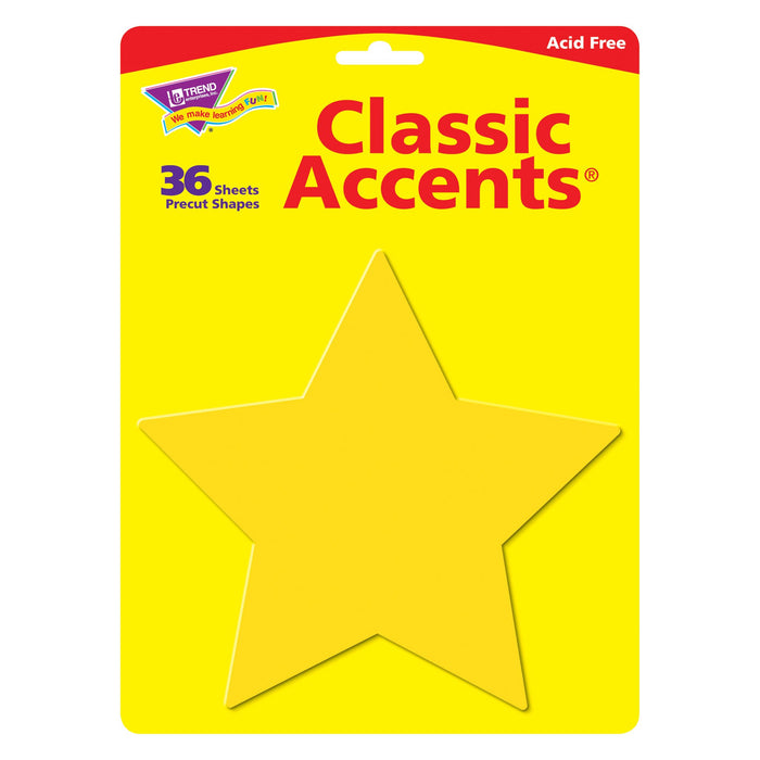 T10038 Accent Yellow Star Package