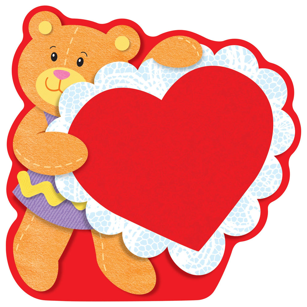 T10044 Accent Valentine Bear
