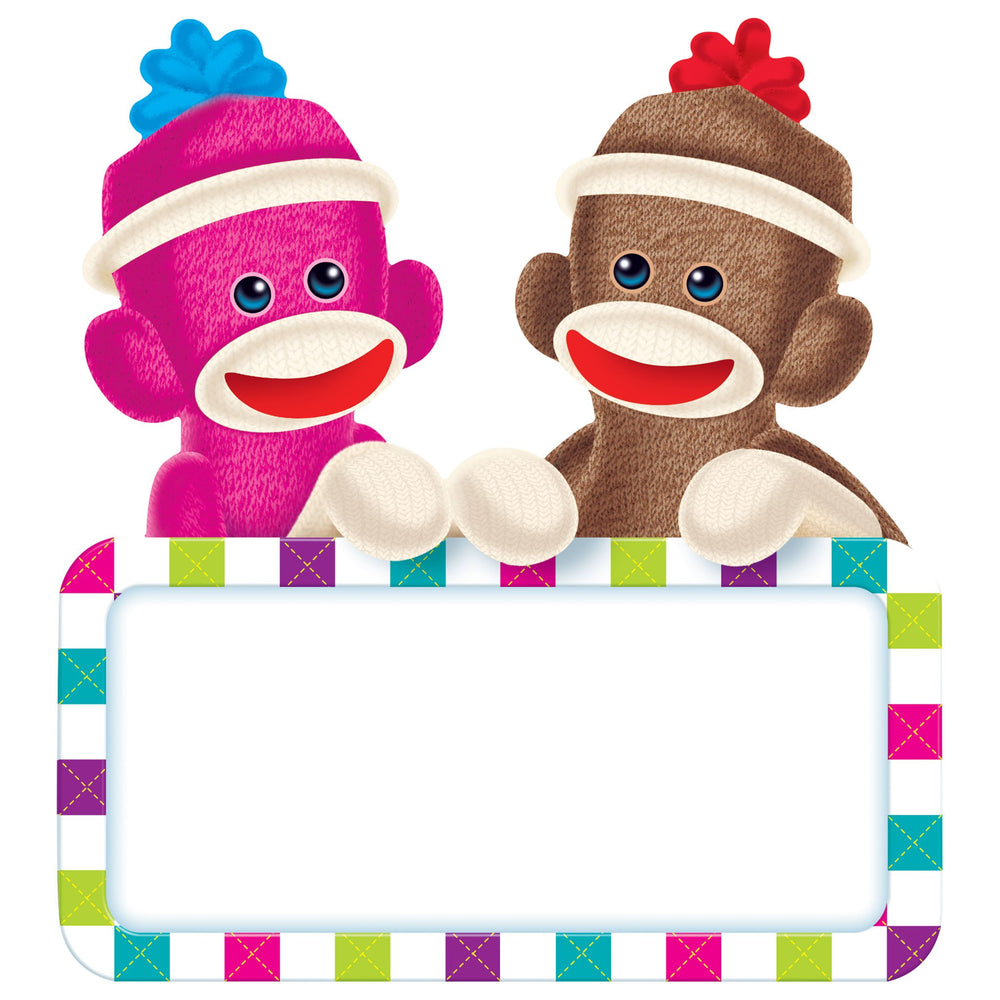 T10083 Accent Sock Monkey Sign