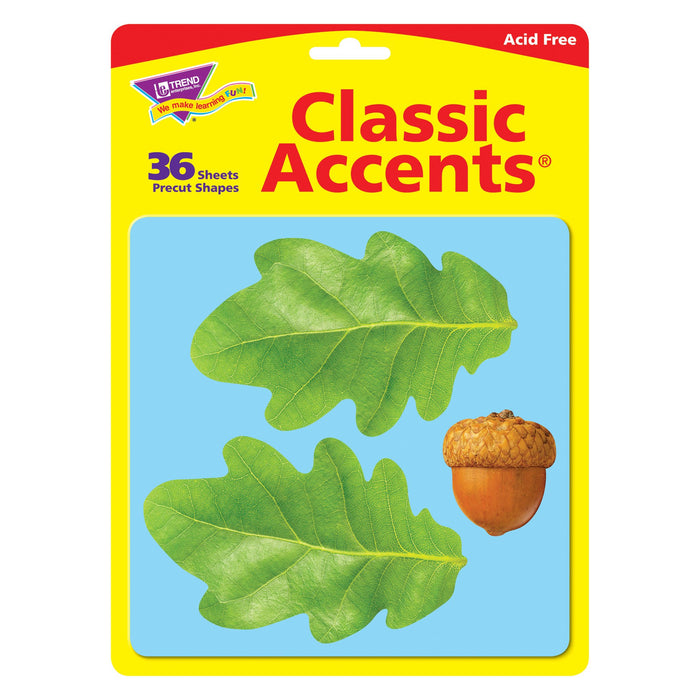 T10097 Accent Leaves Acorn Package