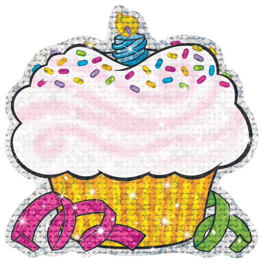 T10101 Accent Sparkle Cupcake