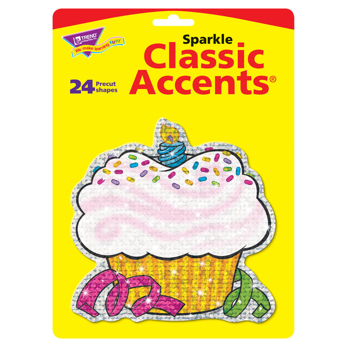 T10101 Accent Sparkle Cupcake Package