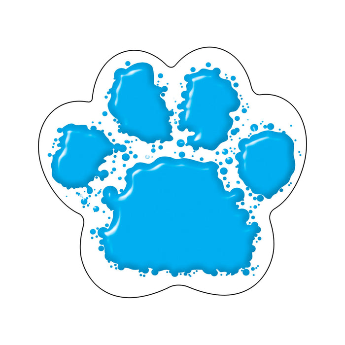 T10583 Accent Blue Paw Print