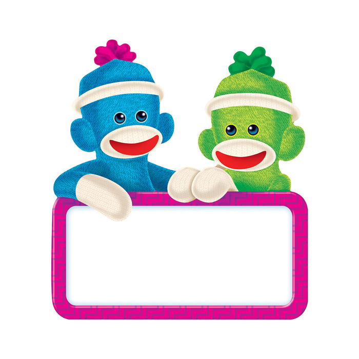 T10596 Accent Sock Monkey Sign