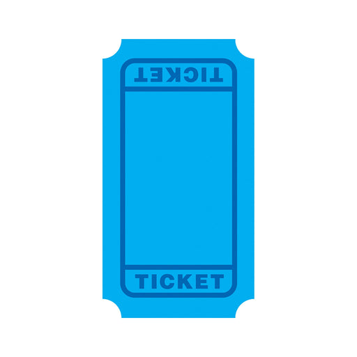 Blue Tickets Mini Accents