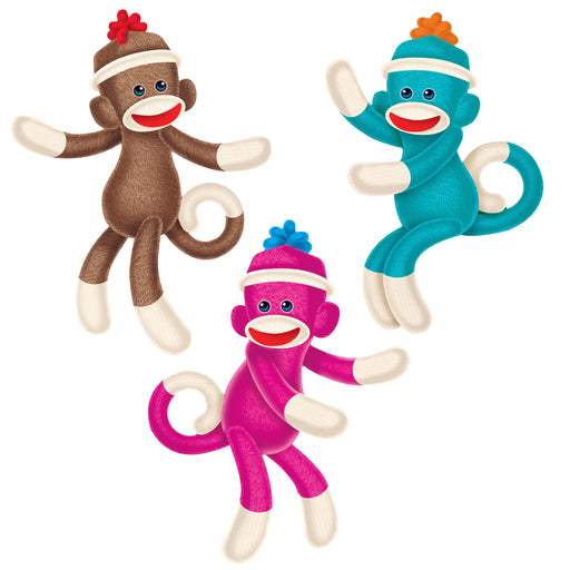 T10608 Accent Sock Monkey
