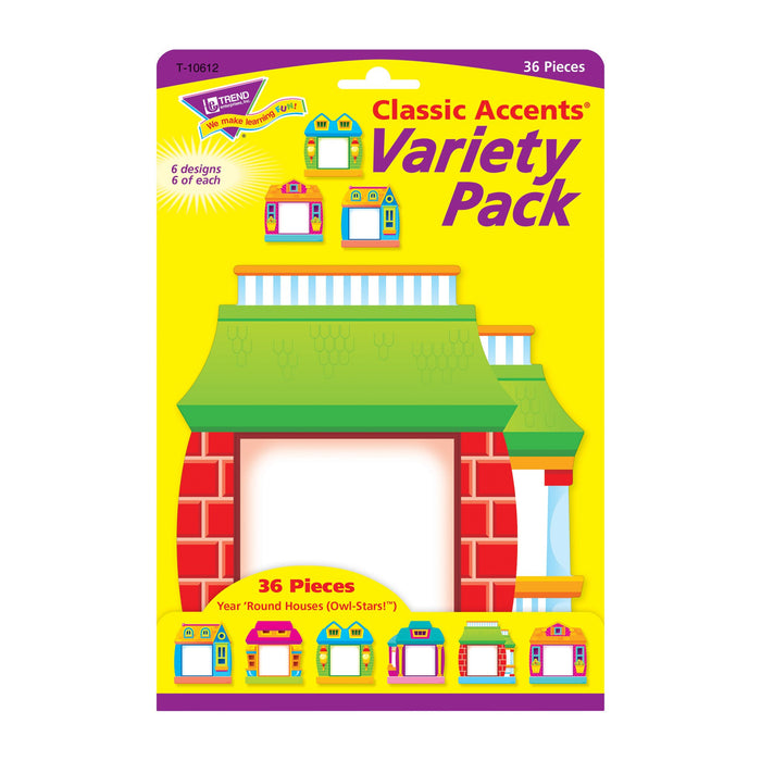 T10612 Accent Owl Stars Houses Package Front