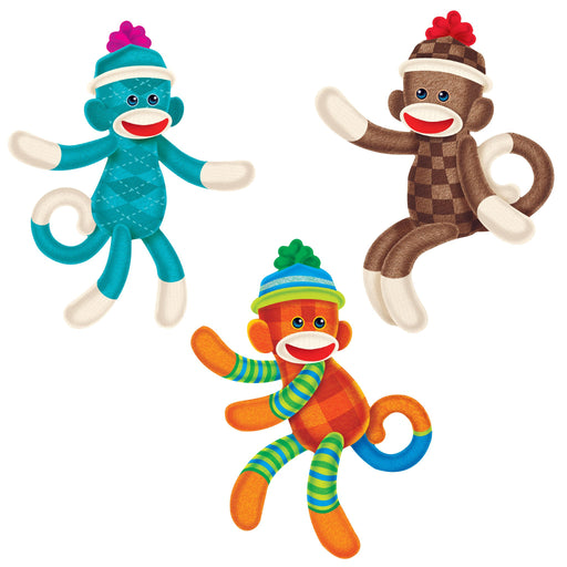 T10624 Accent Sock Monkey