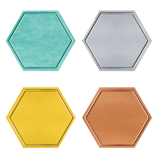 I ♥ Metal™ Hexagons Classic Accents® Variety Pack