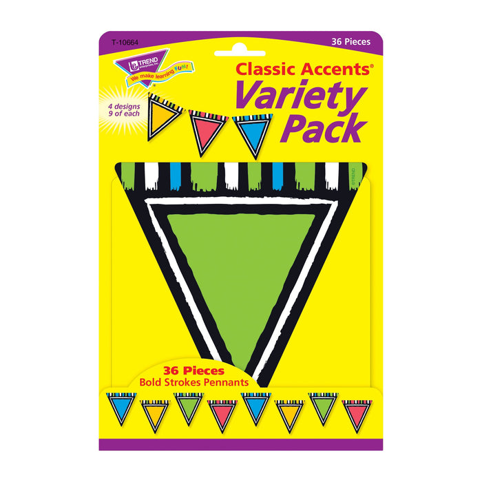T10664 Accent Bold Pennant Package Front