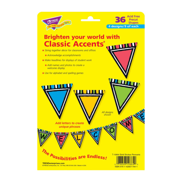 T10664 Accent Bold Pennant Package Back