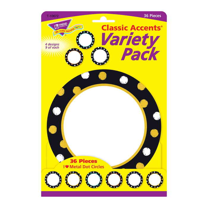 T10672 Accent Metal Dot Circles Package Front