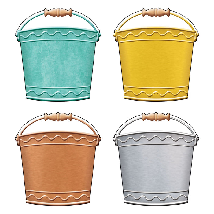 T10674 Accent Metal Buckets