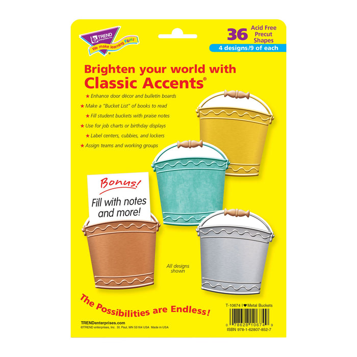 T10674 Accent Metal Buckets Package Back