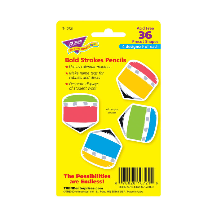 T10721 Accent Bold Pencil Package Back