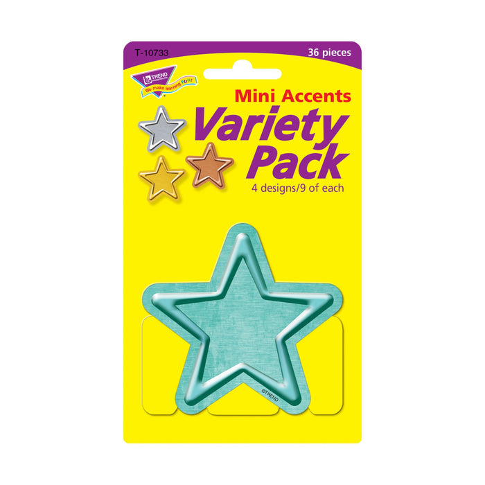 T10733 Accent Metal Stars Package Front