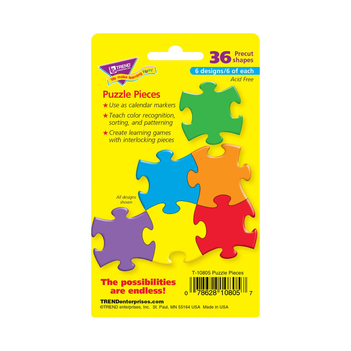 T10805 Accent Primary Color Puzzle Package Back
