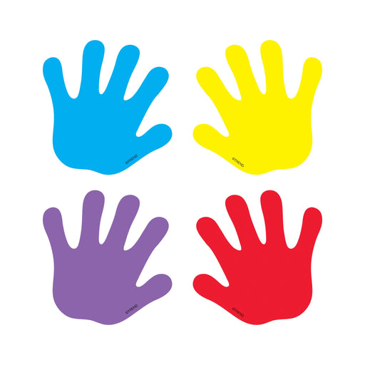 T10831 Accent Primary Color Hand Print
