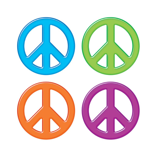 T10856 Accent Peace Signs Solids