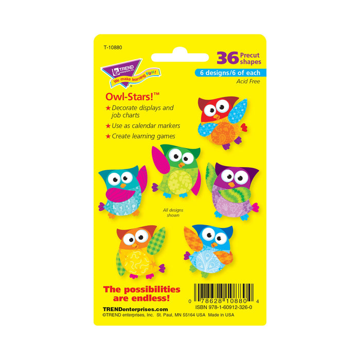 T10880 Accent Owl Stars Package Back