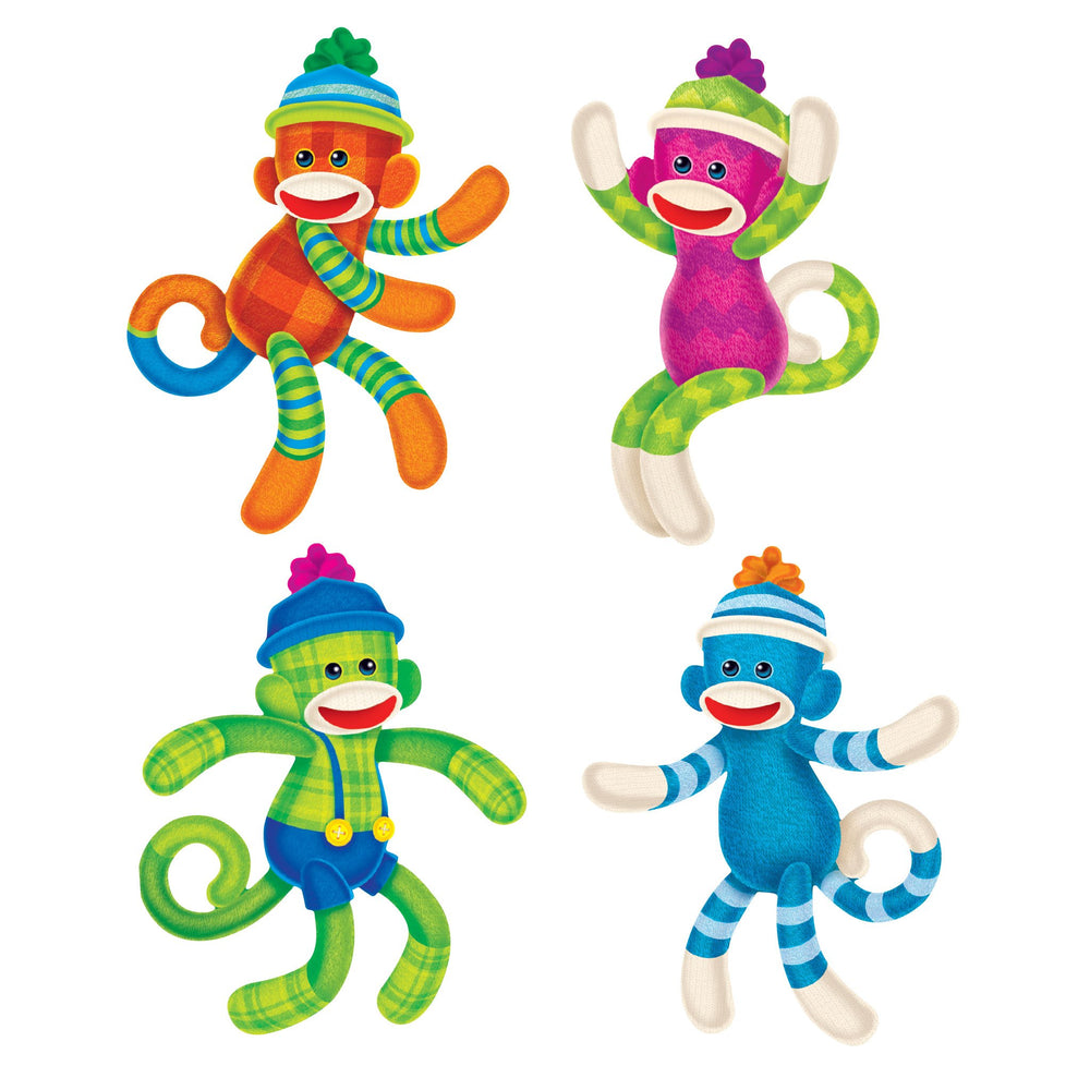 T10898 Accent Sock Monkey