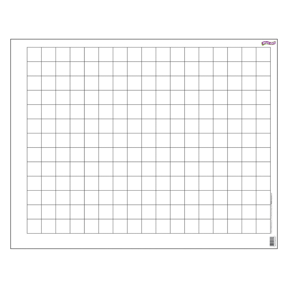 T1092 Wipe Off Chart Graphing Grid