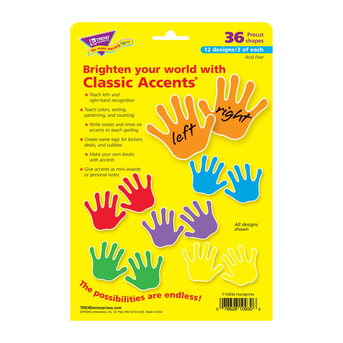 T10930 Accent Primary Color Handprint Package Back