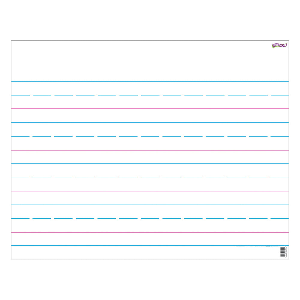 T1094 Wipe Off Chart Hand Writing Paper