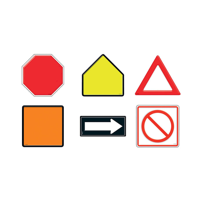T10947 Accent Traffic Road Signs