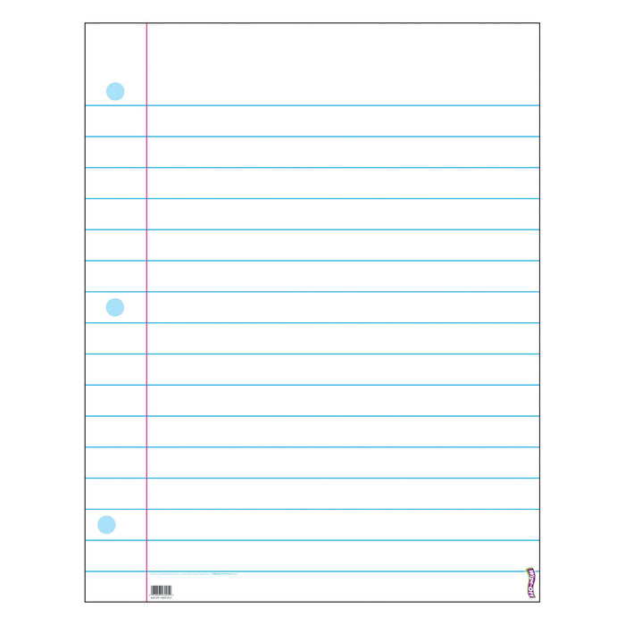 T1095 Wipe Off Chart Notebook Paper