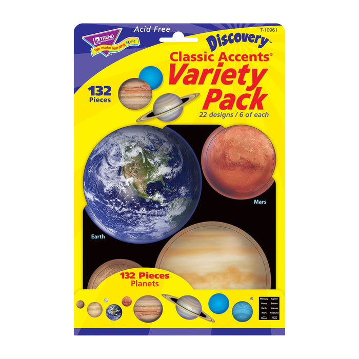 T10961 Accent Planets Package Front