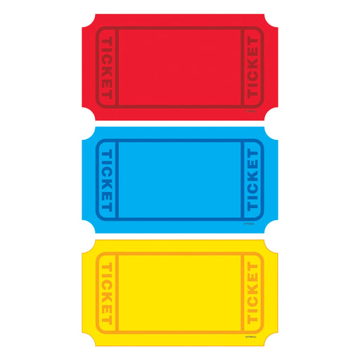 T10971 Accent Primary Color Ticket