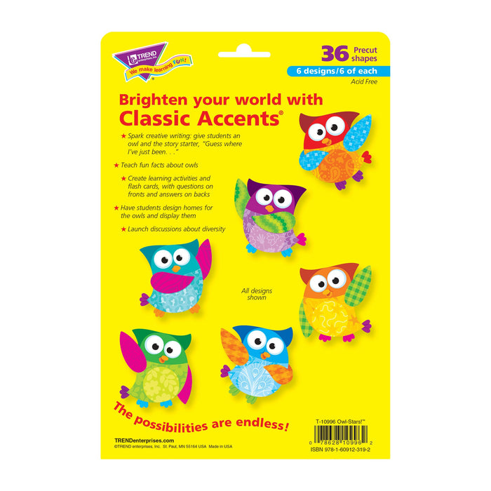 T10996 Accent Owl Stars Package Back