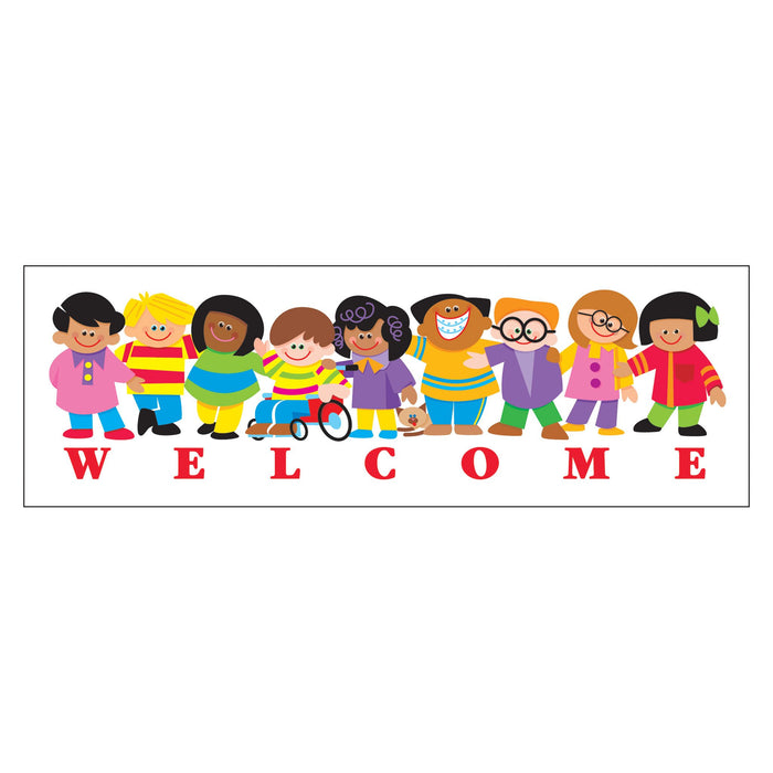 T12007 Bookmark Welcome Kids