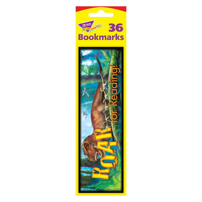 T12037 Bookmark Dinosaur Reading Package