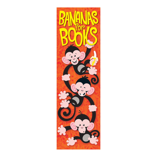 T12040 Bookmark Monkey Books