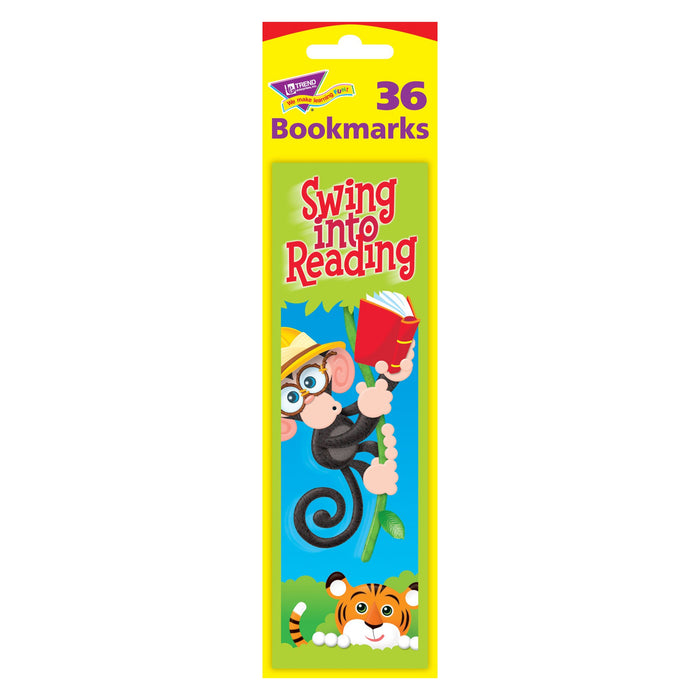 T12042 Bookmark Monkey Reading Package